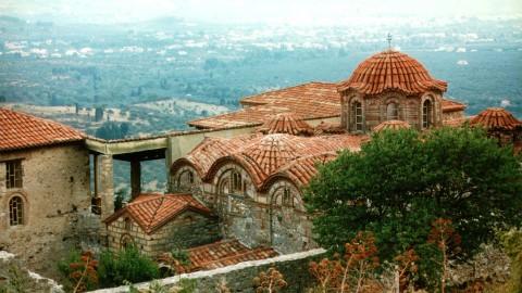 Monastry at Agios Dimitrios